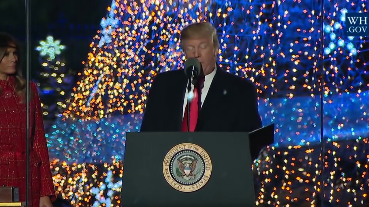 MERRY CHRISTMAS! Trump Praises: Our Lord and Savior Jesus Christ