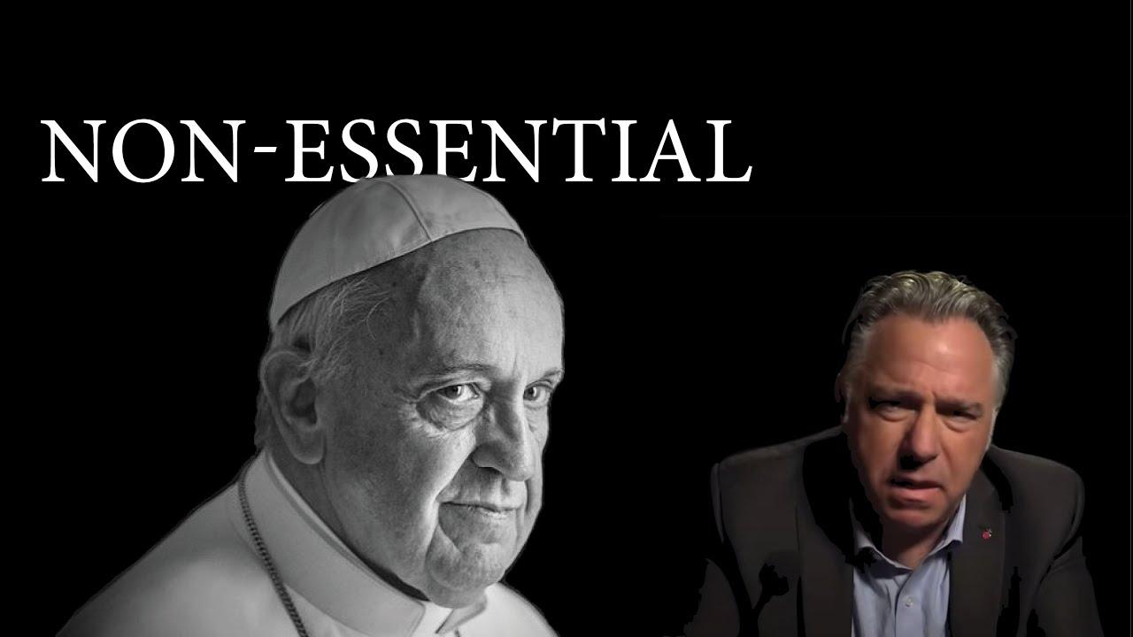 COVID CHAOS & the Non-Essential Pope