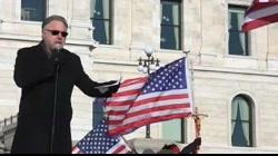 Michael Matt Defends Trump Legacy at Capitol Rally