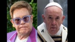 Elton John has a point, Your Holiness!