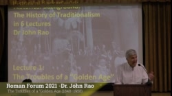 Dr. John Rao: The Troubles of a Golden Age
