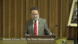 Dr. Kwasniewski: The Normative Role of Tradition in Human/Catholic Life